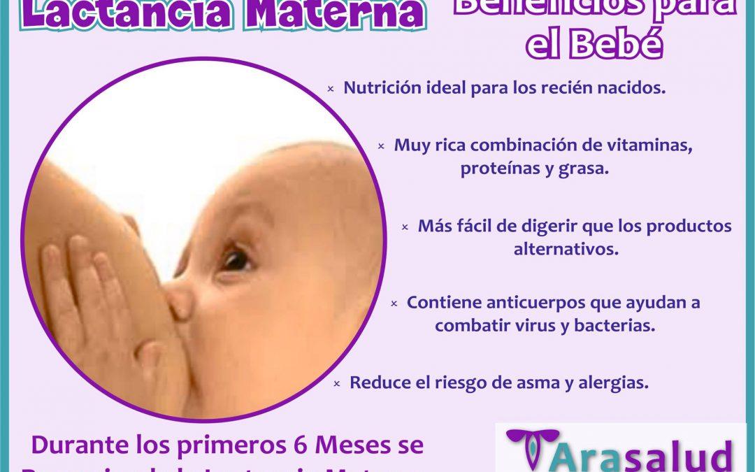 La lactancia materna es la forma más saludable …