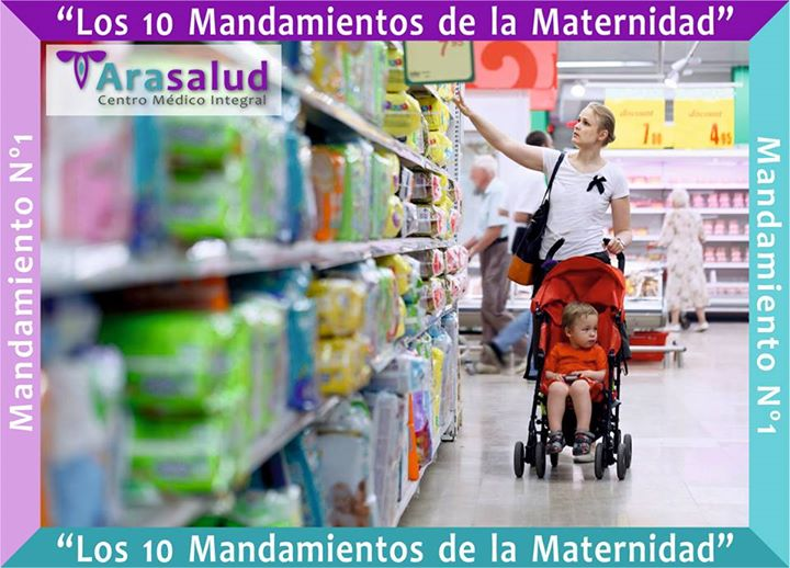 """""""Los 10 Mandamientos de la Maternidad"""" …"""