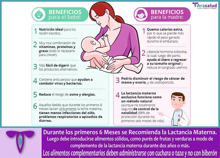 #LactanciaMaterna   …